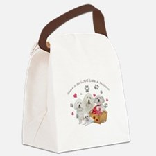 No Love Like A Maltese Canvas Lunch Bag