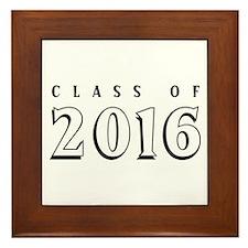 Class of 2016 Framed Tile