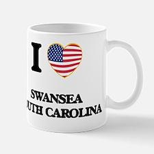 I love Swansea South Carolina Small Small Mug