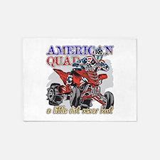 American Quad 5'x7'Area Rug