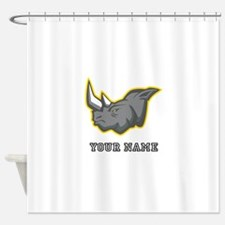 Rhino (Custom) Shower Curtain