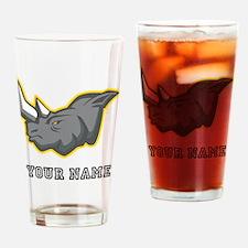 Rhino (Custom) Drinking Glass