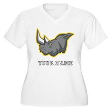 Rhino (Custom) Plus Size T-Shirt