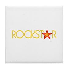Rockstar Tile Coaster