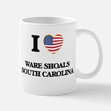 I love Ware Shoals South Carolina Mugs
