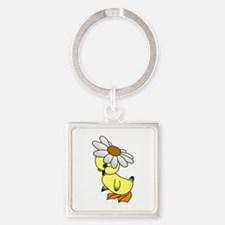 Daisy Chick Keychains