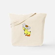 Daisy Chick Tote Bag