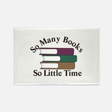 So Many Books Magnets