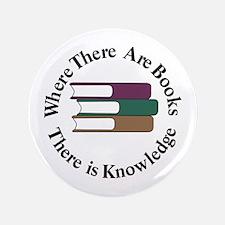 Where There are Books Button
