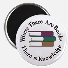Where There are Books Magnets