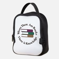Where There are Books Neoprene Lunch Bag