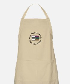 Where There are Books Apron