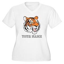 Tiger Head (Custom) Plus Size T-Shirt