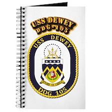 USS Dewey (DDG-105)-With Text Journal