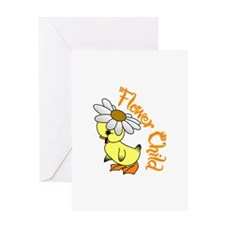 Flower Child Greeting Cards