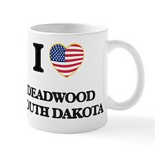 I love Deadwood South Dakota Small Mug