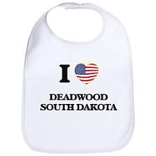 I love Deadwood South Dakota Bib