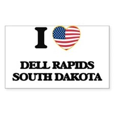 I love Dell Rapids South Dakota Decal