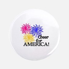 Cheer For America! Button