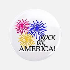 Rock On America! Button