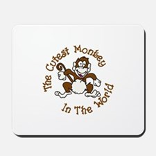 Cutest Monkey Mousepad