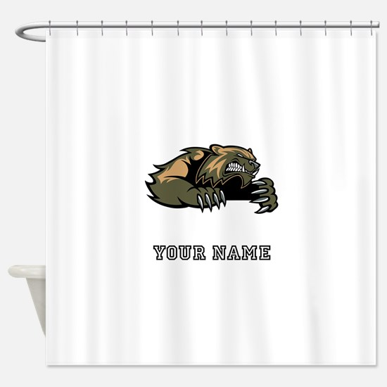 Wolverine (Custom) Shower Curtain