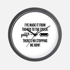 There's No Stopping Me Now Wall Clock