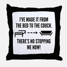 There's No Stopping Me Now Throw Pillow