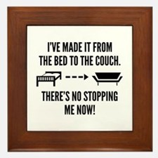 There's No Stopping Me Now Framed Tile