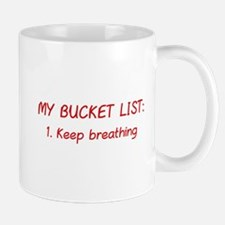 My Bucket List Mug