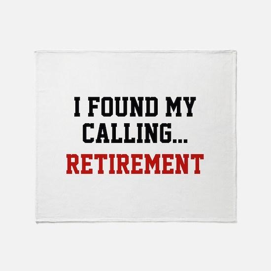 I Found My Calling... Stadium Blanket