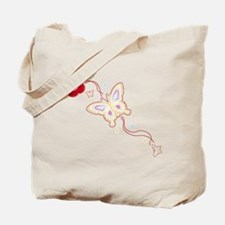 Flying Butterfly Tote Bag