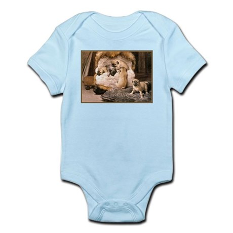 PUG PUPPIES Infant Bodysuit