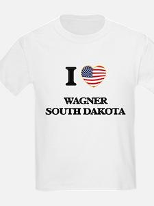 I love Wagner South Dakota T-Shirt