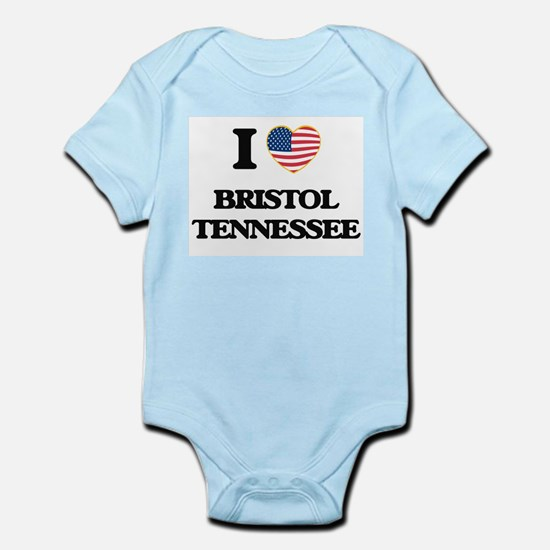 I love Bristol Tennessee Body Suit