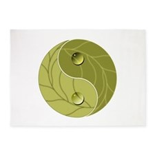 Yin Yang Nature 5'x7'Area Rug