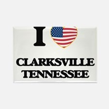 I love Clarksville Tennessee Magnets
