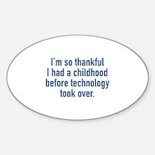 I'm So Thankful Decal