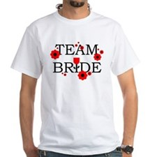 Team Bride Black Red Shirt