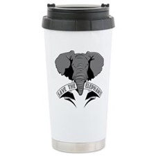 Save The Elephant Travel Mug