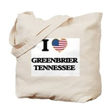 I love Greenbrier Tennessee Tote Bag