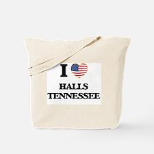 I love Halls Tennessee Tote Bag