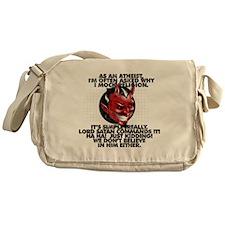 Lord Satan Commands It Messenger Bag