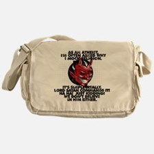 Lord Satan Commands It Messenger Bag