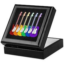 Rainbow Guitars Keepsake Box