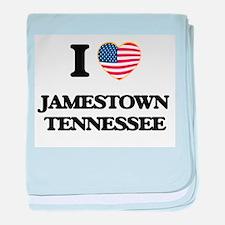 I love Jamestown Tennessee baby blanket