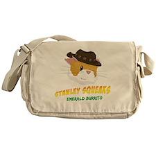 Stanley Squeaks Dark Shirt Messenger Bag