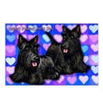 SCOTTISH TERRIER DOGS Postcards (Package of 8)