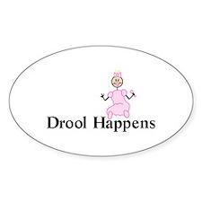 Drool Happens Decal