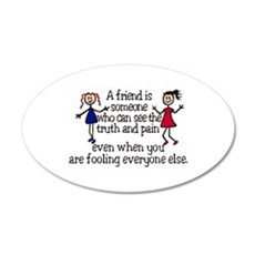 A Friend Is Wall Decal